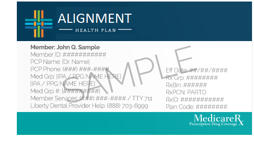 alignment health plan identification number